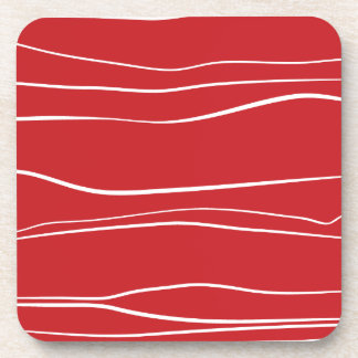 Líneas caprichosas (rojas) posavaso