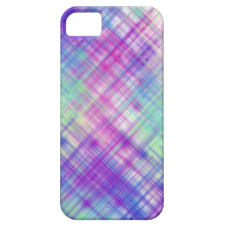 Líneas coloridas casos funda para iPhone 5 barely there