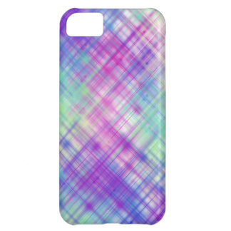 Líneas coloridas casos funda para iPhone 5C