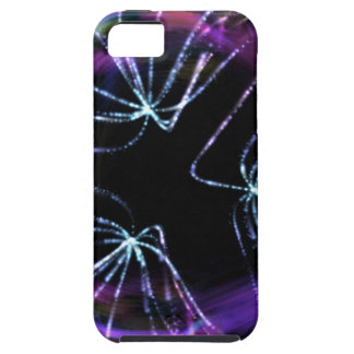 Líneas coloridas iPhone 5 carcasa