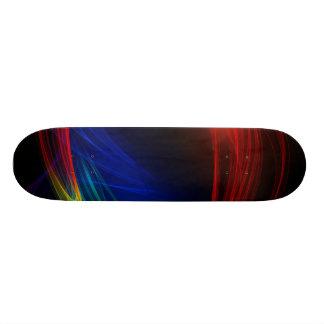 Líneas coloridas patin