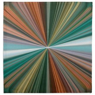 Líneas convergentes dinámicas modelo servilleta imprimida