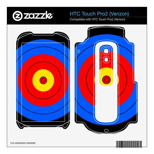 Líneas de blanco HTC touch pro2 skin