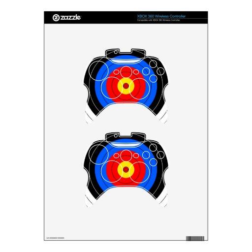 Líneas de blanco mando xbox 360 calcomanía