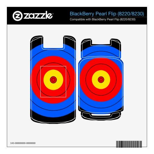 Líneas de blanco skins para BlackBerry