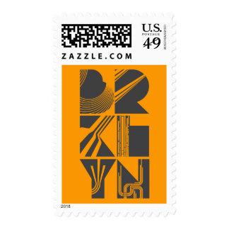 Líneas de Brooklyn Timbres Postales