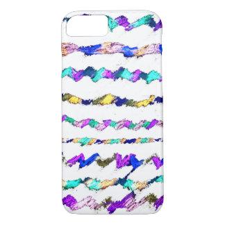 Líneas de color caso del iPhone 7 Funda iPhone 7