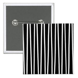 Líneas de disminución ilusiones ópticas pin cuadrado
