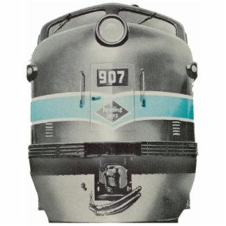 Líneas de ferrocarril de la lectura diesel # Pin Pin Fotoescultura
