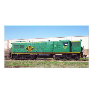 Líneas de ferrocarril de SMS Baldwin AS616 # 554 Tarjetas Fotográficas