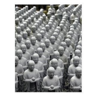 líneas de la estatua de Buda Tarjetas Postales
