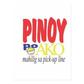 Líneas de la recogida Mahilig sa de Pinoy po Ako Postales