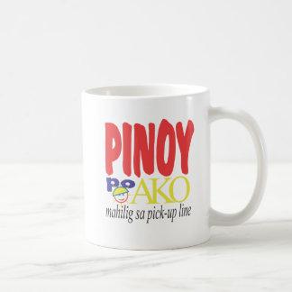 Líneas de la recogida Mahilig sa de Pinoy po Ako Tazas De Café