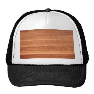 Líneas de madera gorro