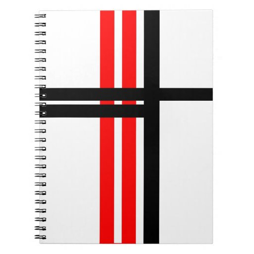 Líneas de Orthagonal Spiral Notebook