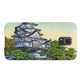 Líneas de transporte pacíficas de Kawase Hasui cas Funda De Galaxy S5