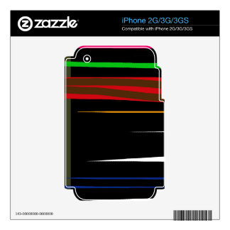 Líneas decorativas iPhone 3GS skins