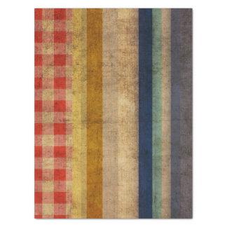 Líneas del arco iris del vintage papel de seda extragrande