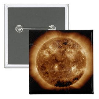 Líneas del campo magnético el Sun 2 Pin