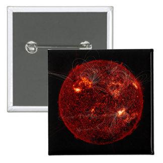 Líneas del campo magnético el Sun 3 Pins