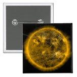 Líneas del campo magnético el Sun Pin Cuadrado