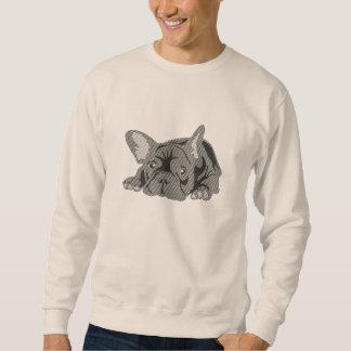 Líneas del dogo francés suéter