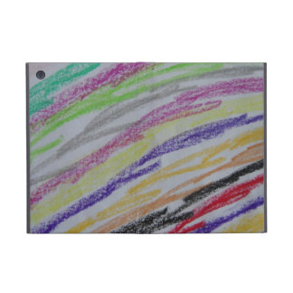 Líneas dibujadas creyón iPad mini coberturas