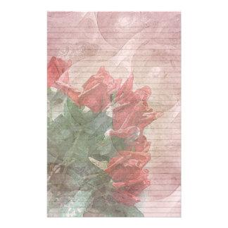 Líneas efectos de escritorio-opcionales florales d papelería