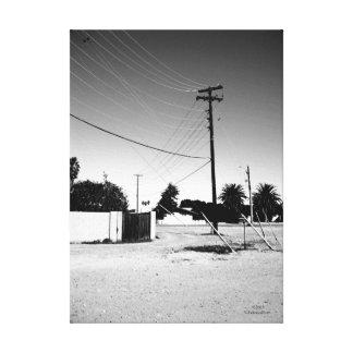 Líneas eléctricas del cerero AZ Impresión En Lona