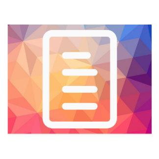 Líneas gráfico del fichero postal