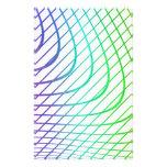 Líneas intemporales coloridas abstractas modelo papelería