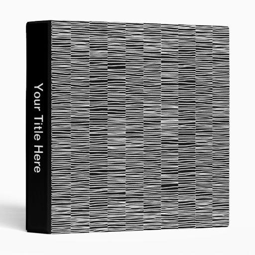 Líneas irregulares - blanco en negro