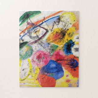 Líneas negras rompecabezas de Kandinsky