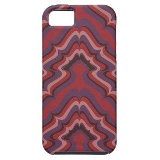 Líneas onduladas papel pintado, 1966-1968 iPhone 5 Case-Mate coberturas