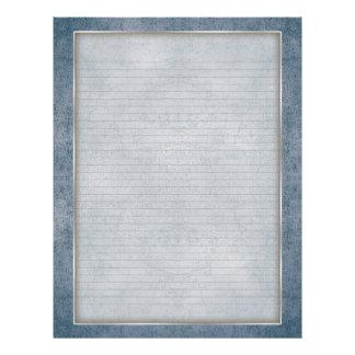 Líneas opcionales papel con membrete con el trullo membrete a diseño