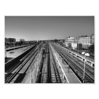 Líneas paralelas arte fotografico
