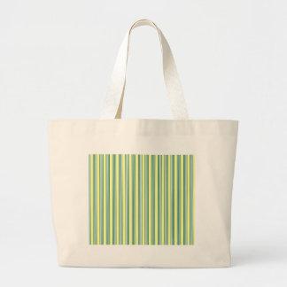 líneas paralelas rayas de la vertical del verde bolsa tela grande