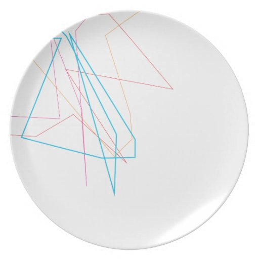 Líneas placa platos