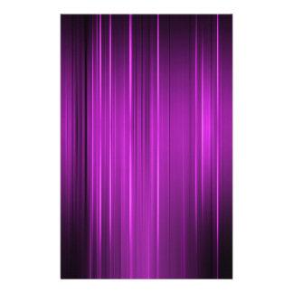 Líneas púrpuras tarjetón