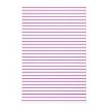 Líneas PÚRPURAS modelo de la raya:  La opción AÑAD Papelería De Diseño