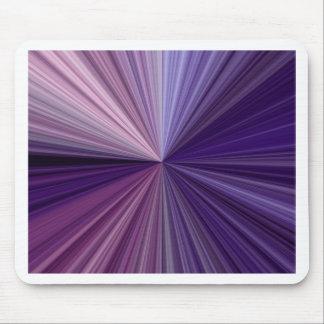 Líneas púrpuras y azules sombras de un espectro alfombrillas de ratones
