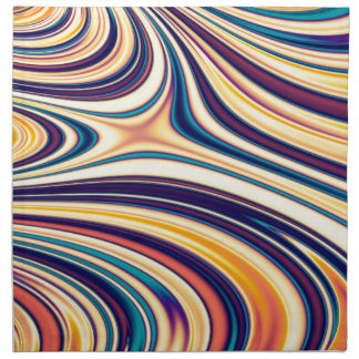 Líneas redondeadas curvadas extracto el fluir del servilleta de papel