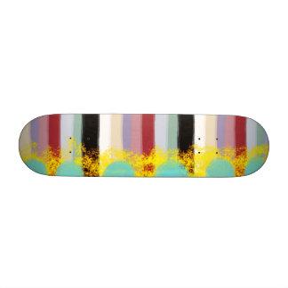 líneas salvajes monopatín pelado de la textura del tablas de skate