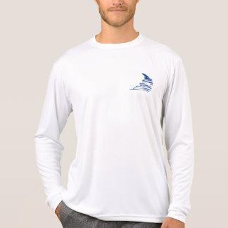 Líneas Squiggly _Go con el flow_Squiggle solamente Camisetas
