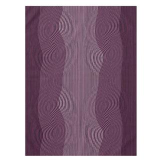Líneas Squiggly no. 1 del mantel de la ilusión