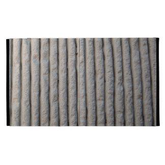 líneas texturizadas de la pared