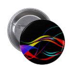 Líneas y modelo de ondas coloridos abstractos pins
