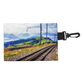Líneas y paisaje del tren