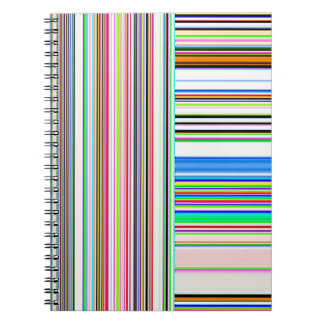 Líneas y rayas reconstruidas de Roberto S. Lee Libreta