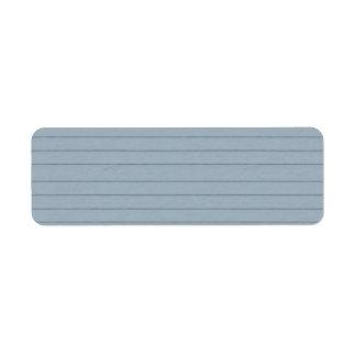 lined aqua paper labels
